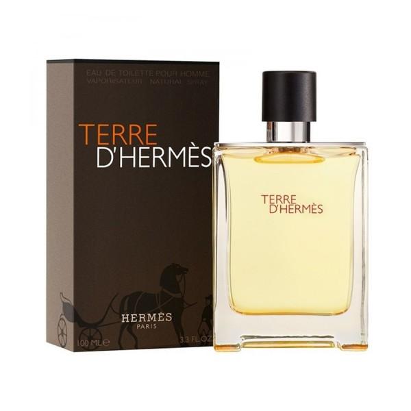 Hermes terre d'hermes pour homme eau de toilette 100ml vaporizador