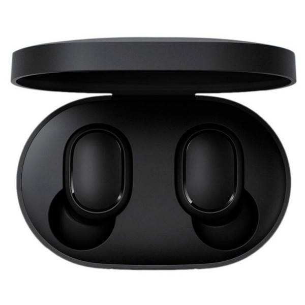 Xiaomi earbuds basic negro auriculares inalámbricos bluetooth diseño tipo botón con estuche de carga