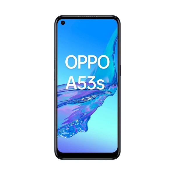 Oppo a53s negro móvil dual sim 4g 6.5'' ips 90hz hd+ octacore 128gb 4gb ram tricam 13mp selfies 16mp