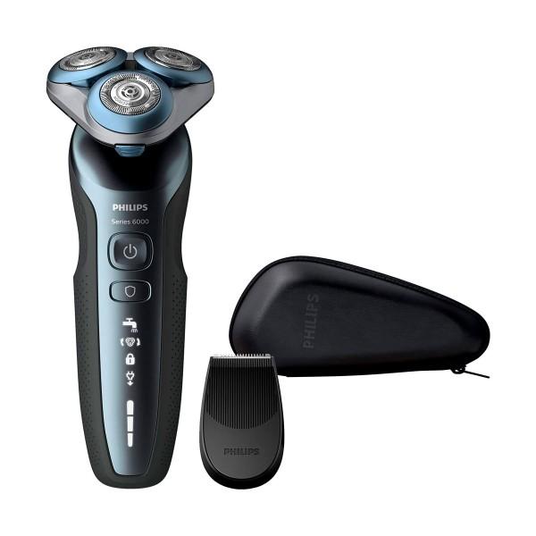 Philips s6620/11 afeitadora eléctrica shaver series 6000 en seco y húmedo