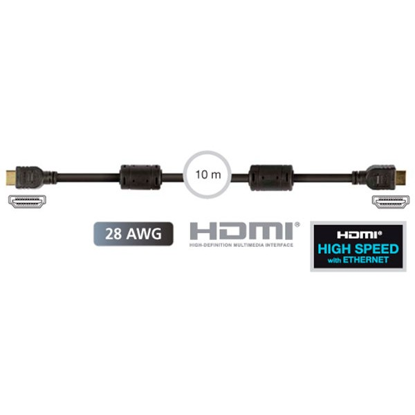 Fonestar 7908-10 cable hdmi macho a hdmi macho de 10m de longitud