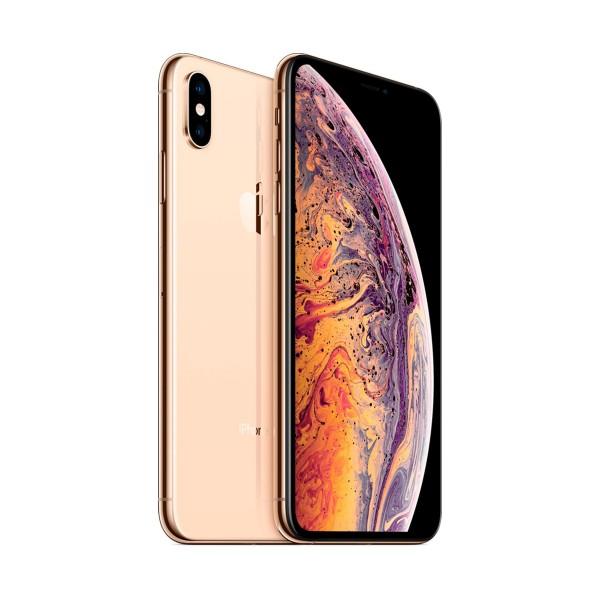 """Apple iphone xs max reacondicionado (cpo) dorado / 4+256gb / 6.5"""" oled / esim"""
