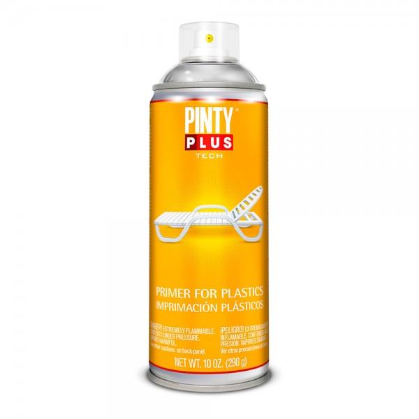 Pintura en spray pintyplus tech imprimación plásticos 520cc  i199 transparente