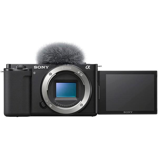 Sony zv-e10 cuerpo de cámara vlog 24.2 mp / vídeo 4k
